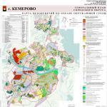 Карта мероприятий по охране ОС, генеральный план города Кемерово